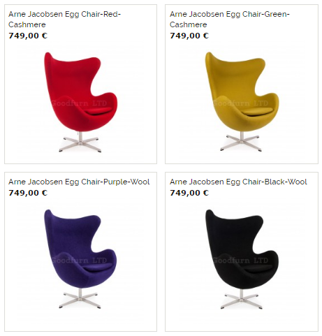 Egg Chair III für 749€